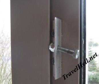 bolt as window handle